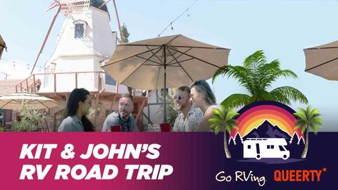 Kit Williamson & John Halbach's RV ROAD TRIP: Solvang