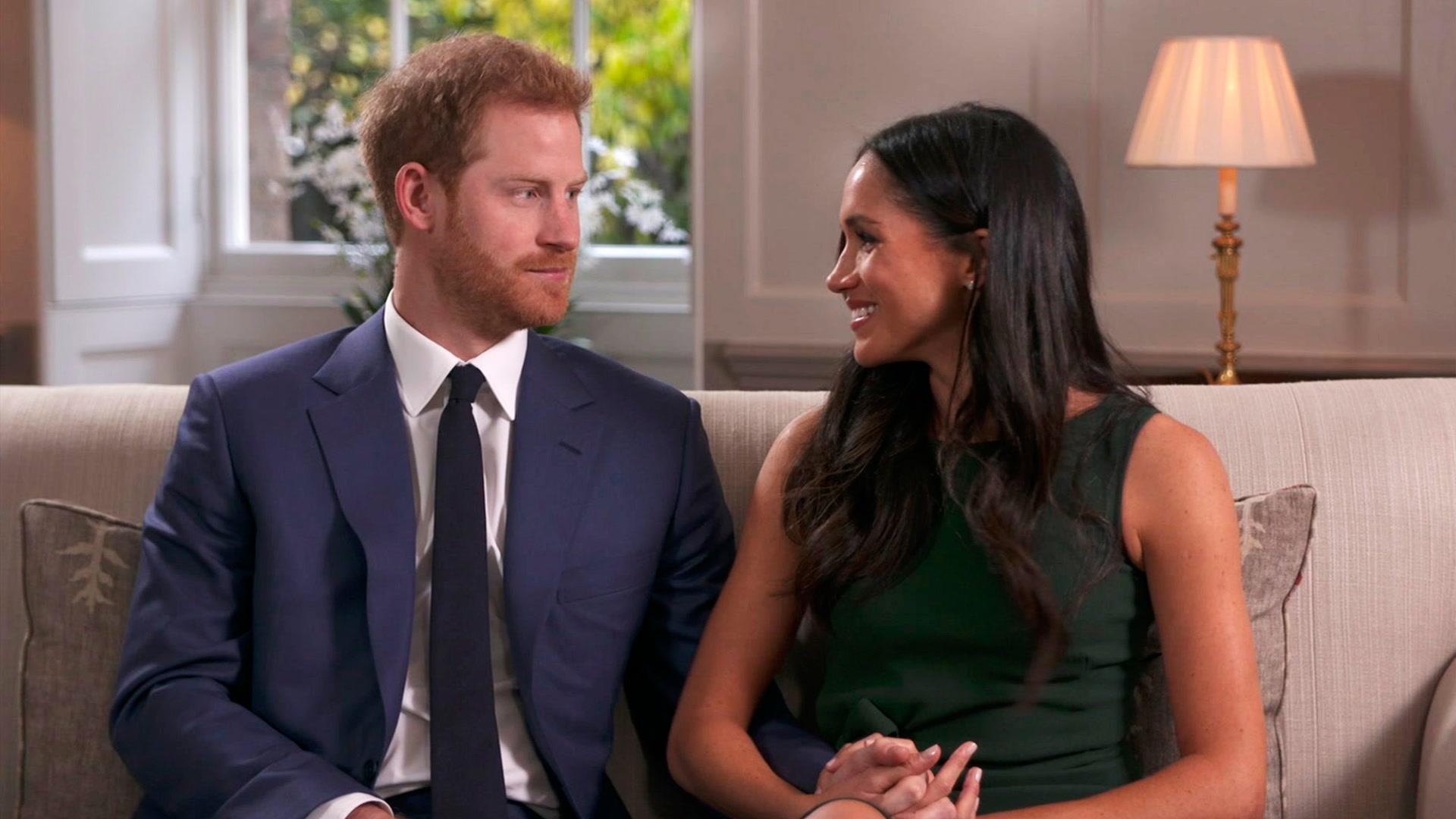 Entrevista del príncipe Harry y Meghan tras su anuncio de compromiso