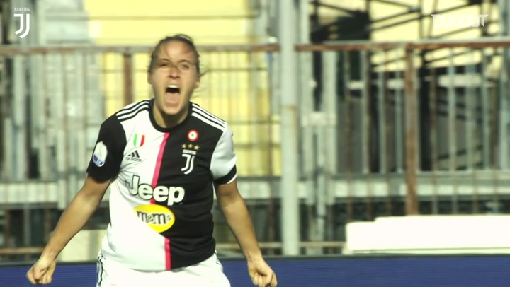 All Juventus Women's goals in 2020 so far