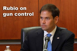 Rubio on gun control