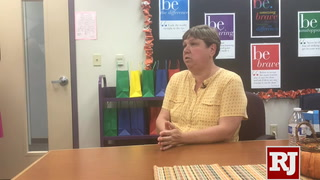Clark County School Board president Deanna Wright on travel expenses