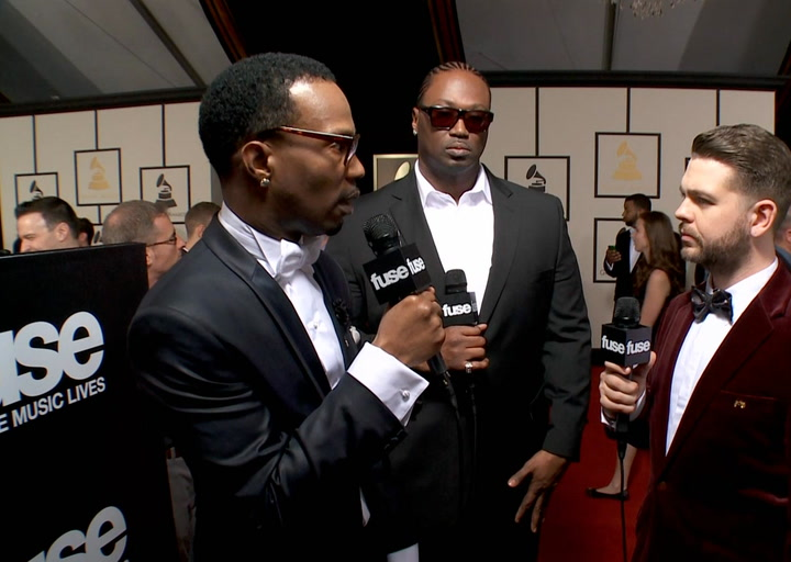 "Shows: Grammys 2014: Juicy J on Katy Perry: ""She's a Genius"""