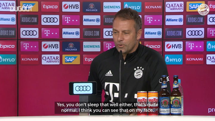 Hansi Flick: 'The focus is on Wolfsburg'