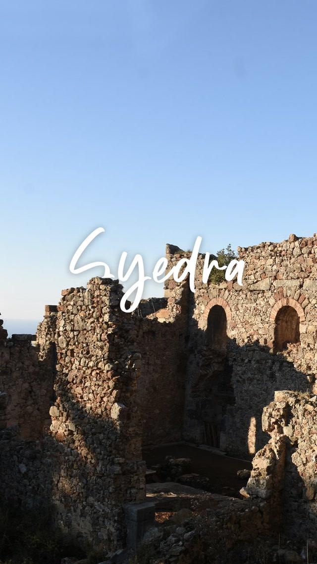 Alanya'da 9. yüzyıldan kalma bir kent