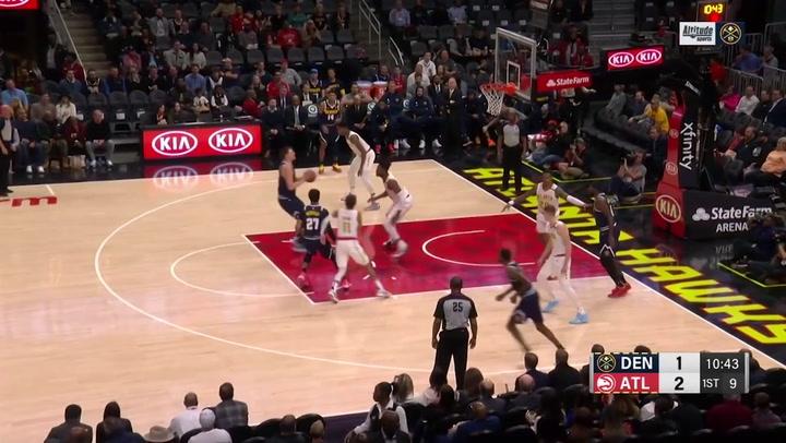 Nikola Jokic (Nuggets), el más destacado de la jornada de la NBA del 6 de enero 2020