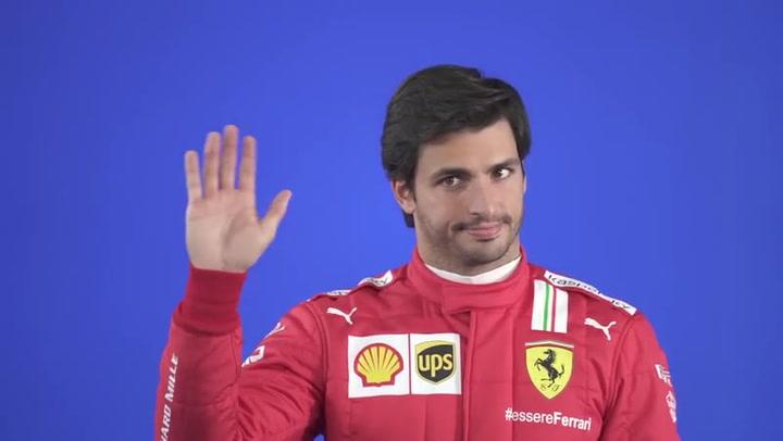 El 'making of' de la presentación de Ferrari con Charles Leclerc y Carlos Sainz
