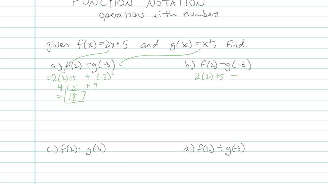 Function Notation - Problem 5