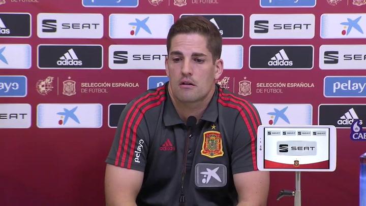 Robert Moreno elogia la figura de Ramos