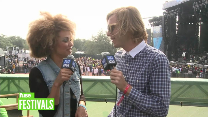 AWOLNATION On New Material & Performing At Voodoo (Voodoo 2012)