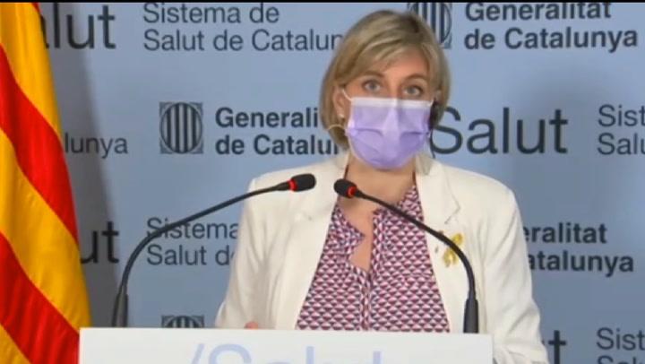 Alba Vergés pide cumplir las medidas para evitar una cuarta ola