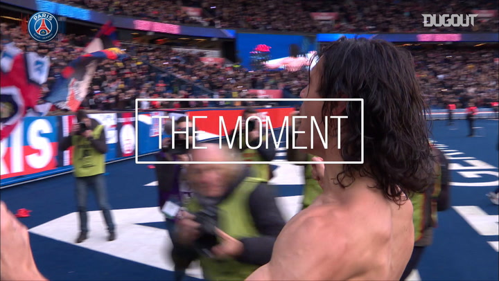 THE MOMENT: CAVANI BECOMES PSG'S TOP SCORER