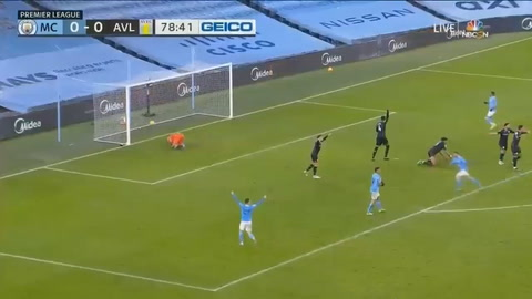 Manchester City 2-0 Aston Villa (Premier League)