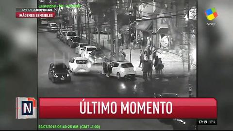 Cámara de seguridad registró la pelea en donde murió el exjugador de Atlético Uruguay
