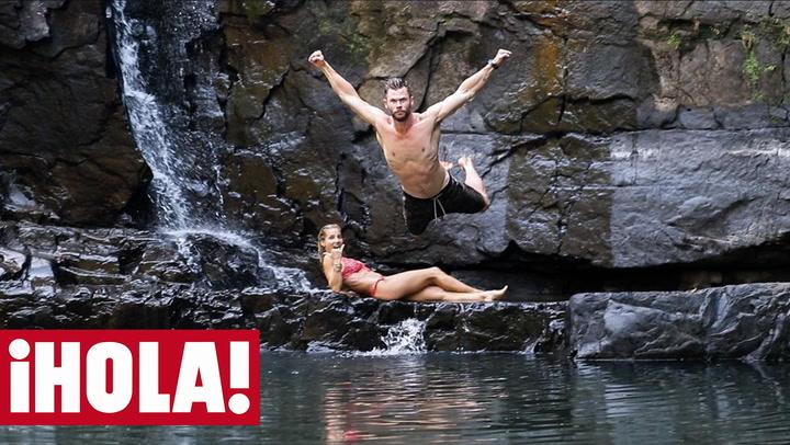 Elsa Pataky y Chris Hemsworth, noche de cita con sabor a despedida