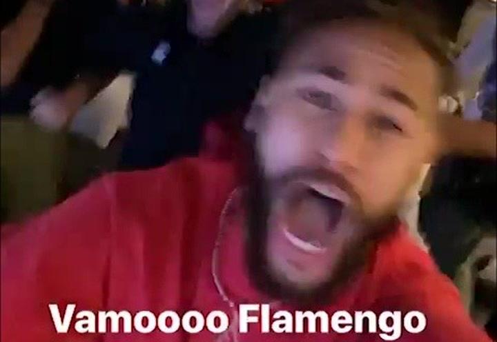 El homenaje de Neymar a su amigo Gabigol