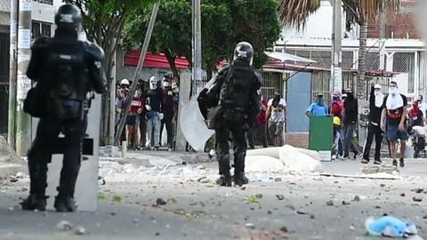 Cali, el corazón de la ira popular en Colombia que quiere detener las balas