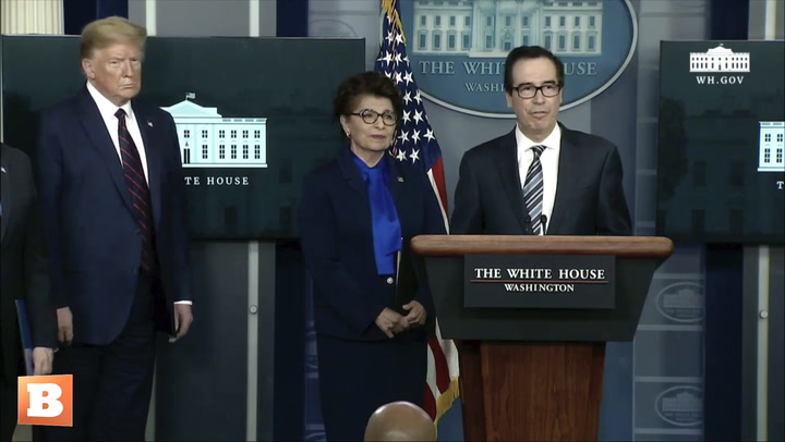 Steven Mnuchin Speeds Up First Round of Coronavirus Relief for Americans: 2 Weeks