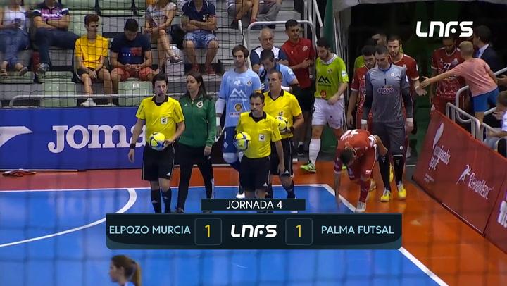 LNFS. Jornada 4: ElPozo Murcia - Palma Futsal (1-1) Jornada 4 Temp 19-20