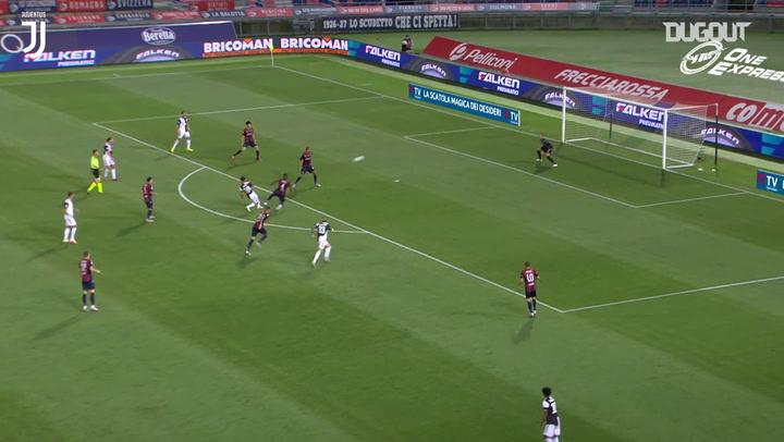Golaço de Dybala pela Juventus contra o Bologna