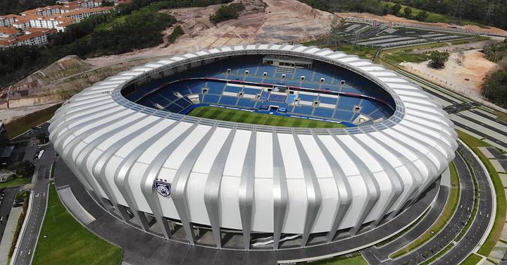 Así es el Sultan Ibrahim Stadium