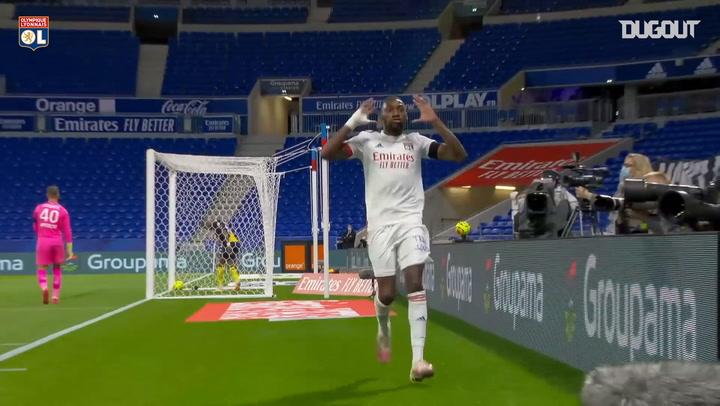 Olympique Lyonnais' best goals of 2020