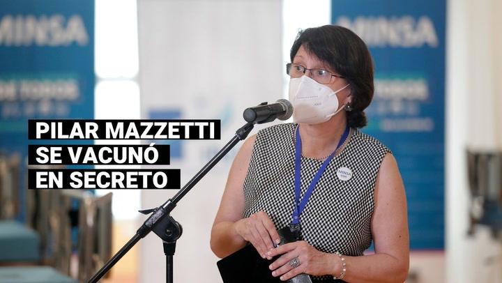 Gobierno dejó sin efecto las gracias a la exministra Pilar Mazzetti por los servicios prestados a la Nación