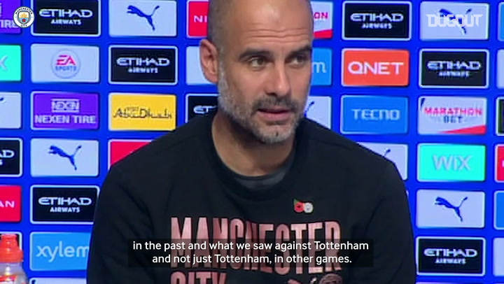 Pep impressed with in-from West Ham