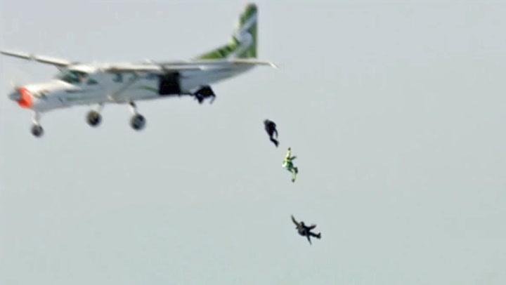 Amerikaner hoppet 7.620 meter UTEN fallskjerm