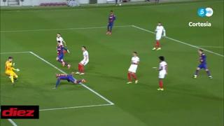Barcelona están en la final de la Copa del Rey tras un gol de 'Súper' Braithwaite ante Sevilla