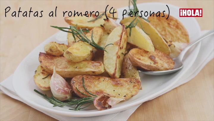 Vídeo-recetas: Patatas al romero