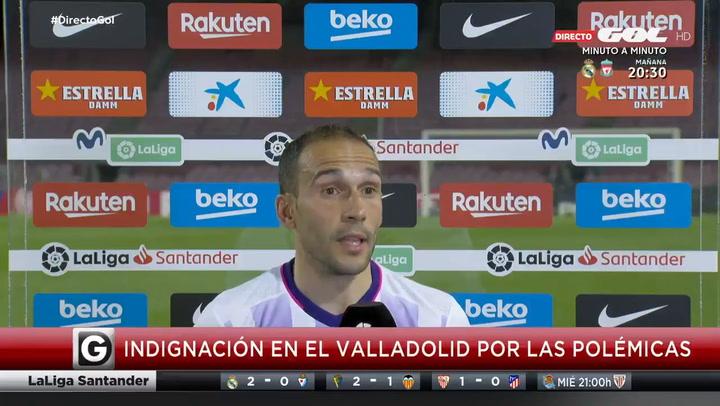 La rajada de Nacho del Valladolid: