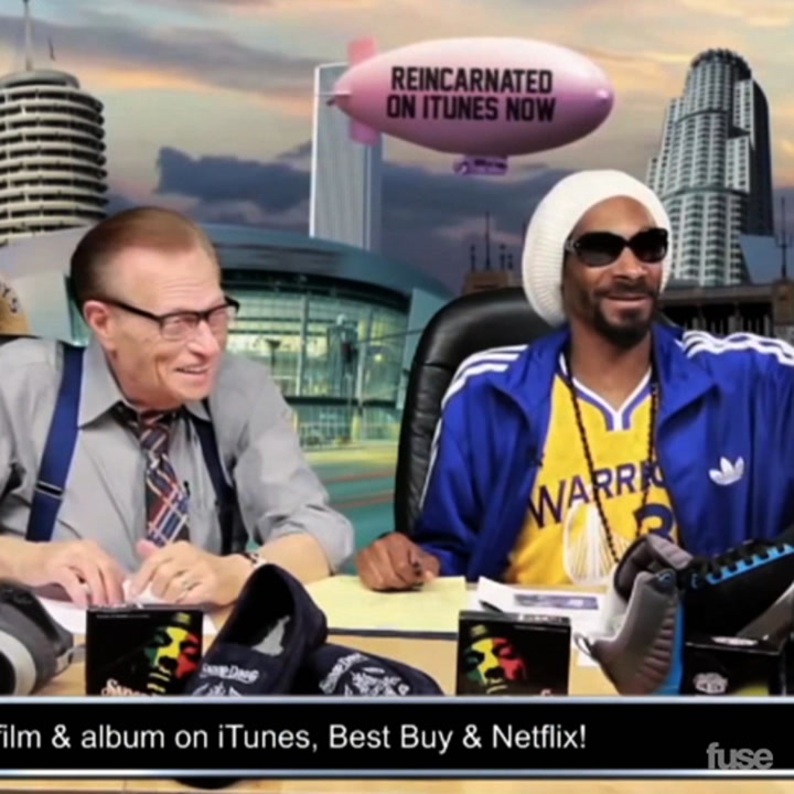 Snoop Dogg Teaches Larry King How to Rap