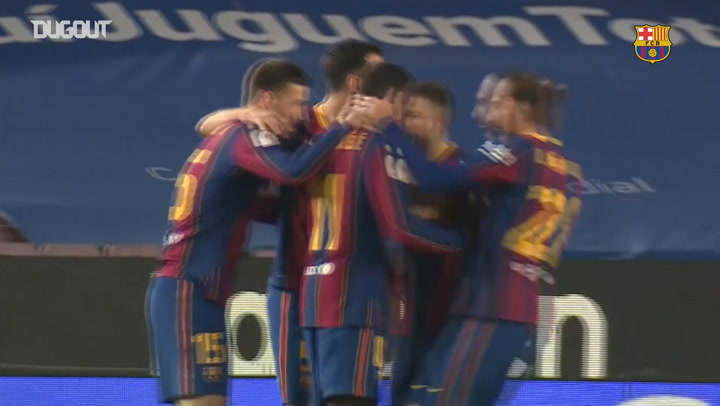 Behind the scenes of Barcelona's victory over Sevilla in Copa del Rey