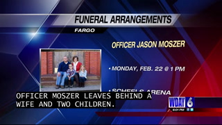 Funeral arrangements for Officer Moszer set for February 22 at Scheels Arena