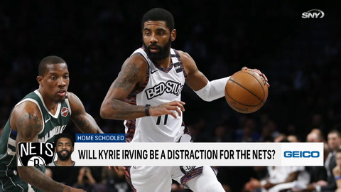 SportsNite: Kyrie Irving already setting an odd tone with recent statement