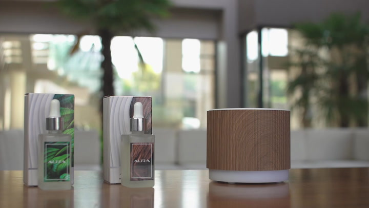 Preview image of Aura Clarity Ultrasonic Diffuser - How it works video