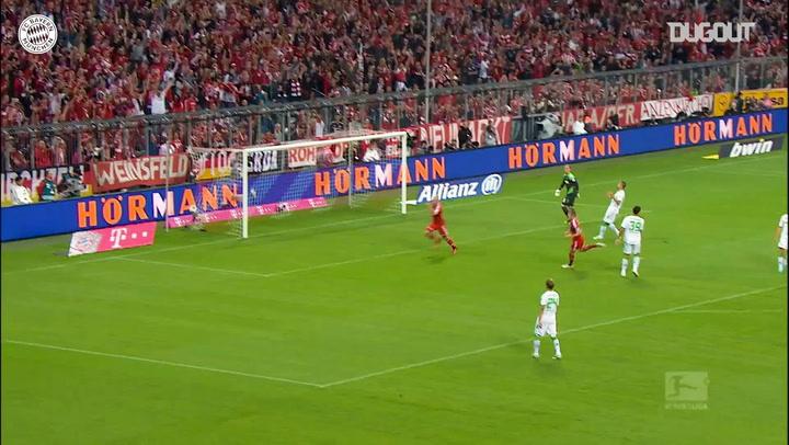 Best Assists: Ribéry Vs Gladbach