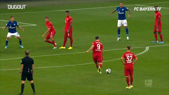 All Of Robert Lewandowski's Free-Kick Goals For Bayern