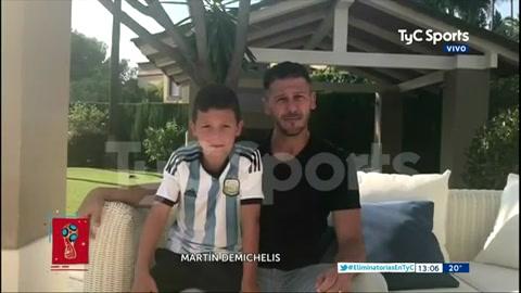 Los exjugadores de la selección le dedicaron un emotivo mensaje al plantel argentino