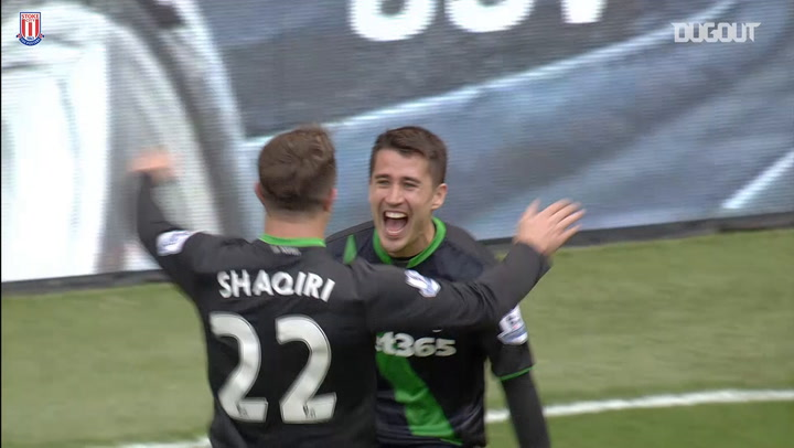Bojan scores for Stoke at Liverpool