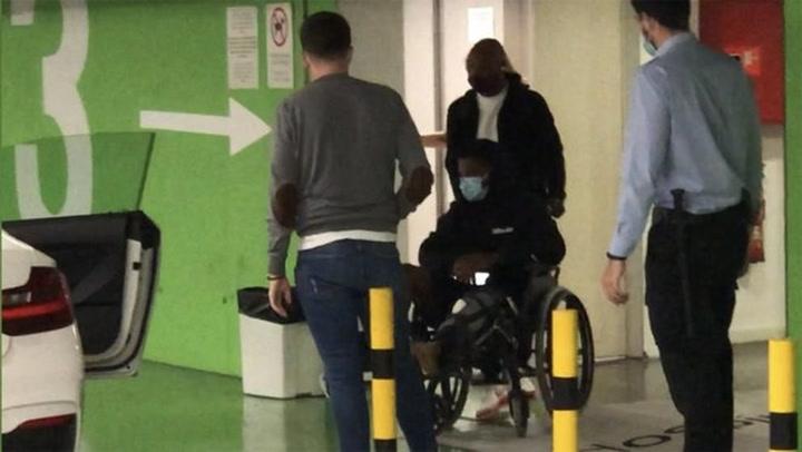 Ansu Fati acaba de salir del hospital