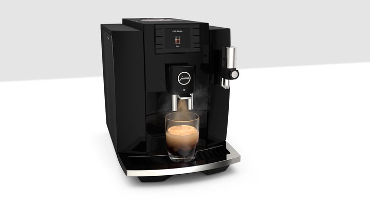 Preview image of Jura E8 Automatic One Touch 1450W Bean To Cup Capp video