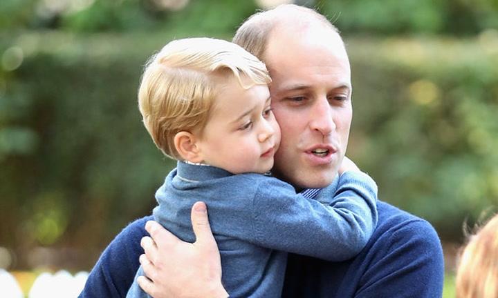 La \'hazaña\' del príncipe Guillermo que más ha impresionado a su hijo George