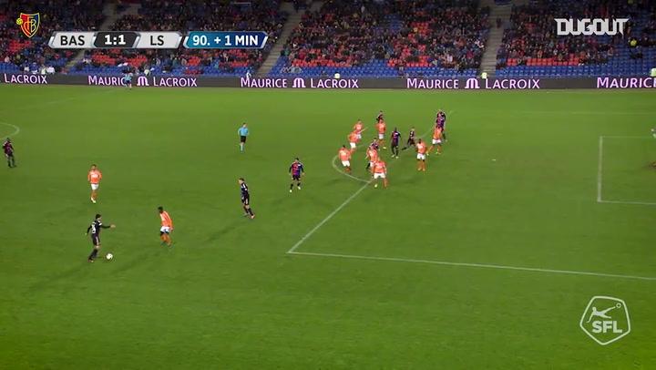 FC Basel 1893 best goals vs Lausanne