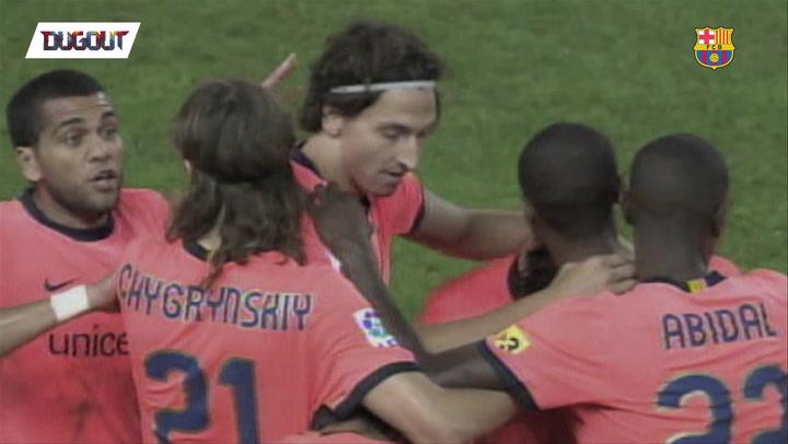 Was this Zlatan Ibrahimovic's best Barça goal?