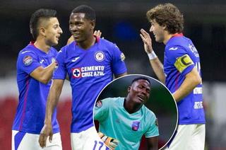 Cruz Azul propina brutal paliza al Arcahaie en la Champions de Concacaf; la tristeza del portero haitiano