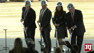 Raiders Hold Groundbreaking Ceremony For Henderson Practice Facility