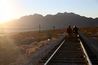 Pedal Your Way Down Historic Southern Nevada Railroads With Rail Explorers