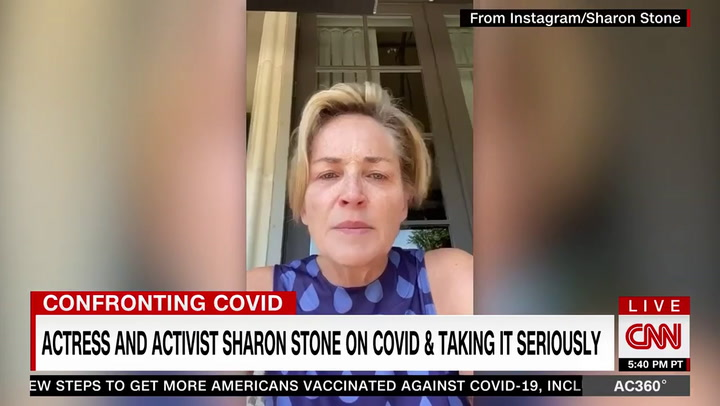 Sharon Stone: If You Knowingly Give Someone a Deadly Disease 'It's a Felony,' COVID Is a Deadly Disease