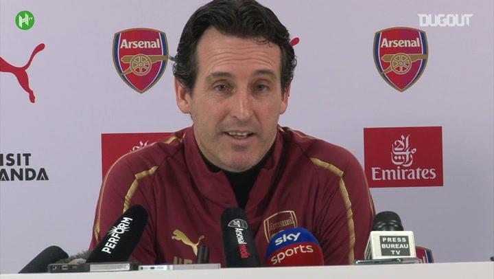 Unai Emery Reacts To Jose Mourinho's Sacking